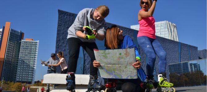 La 3ª Prova d'Orientació Roller de Barcelona amb les places al límit
