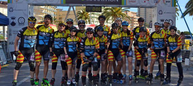 Barcelona omple la World Inline Cup d'Oropesa i guanya la plata màster 60